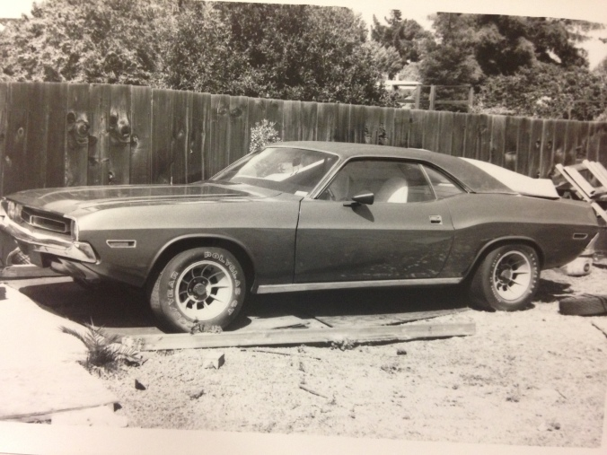 First Challenger a 1971 as in the area it was stored while I was away serving overseas in the Navy after 1983.