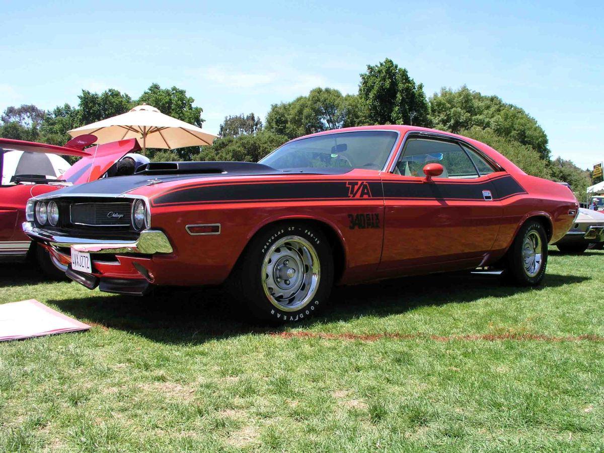 1970 Dodge Challenger Trans Amon 2015 Dodge Challenger Barracuda