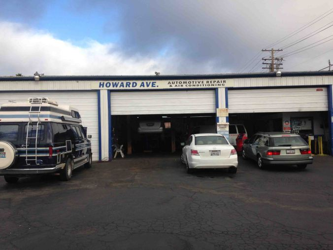 A local shop in nearby San Carlos recommended by my exhaust system guy.  Photo by Challen
